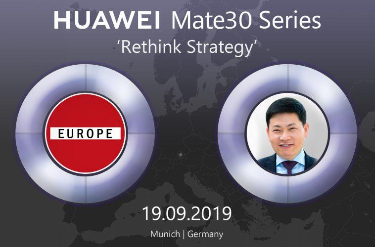 Huawei Mate 30 smartphone serie