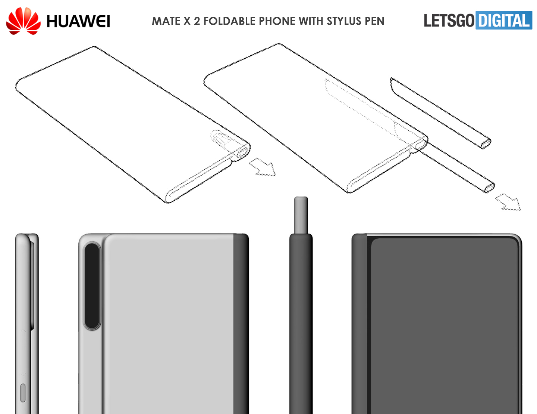design of Huawei Mate X2