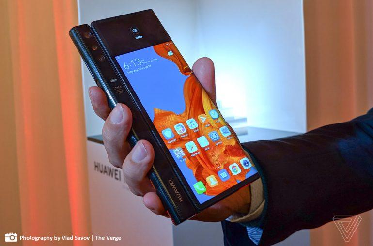 Huawei Mate X vouwtelefoon