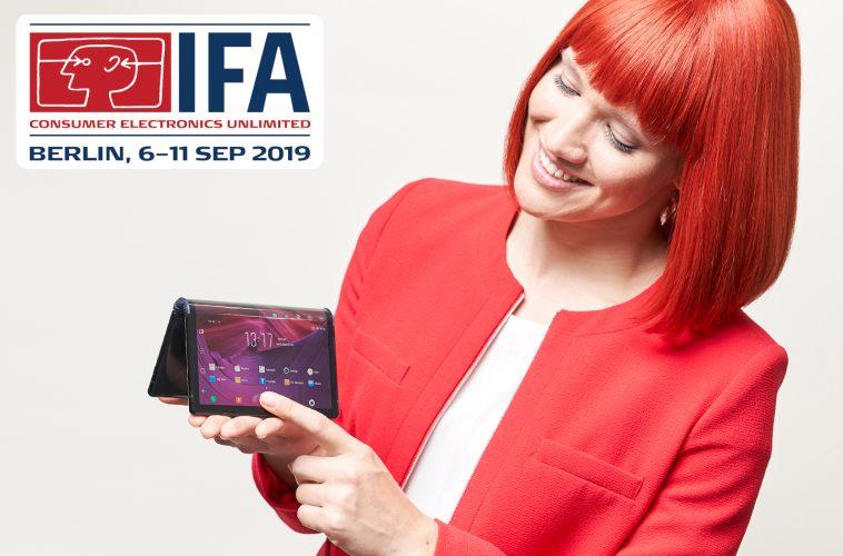 IFA 2019 opvouwbare smartphones