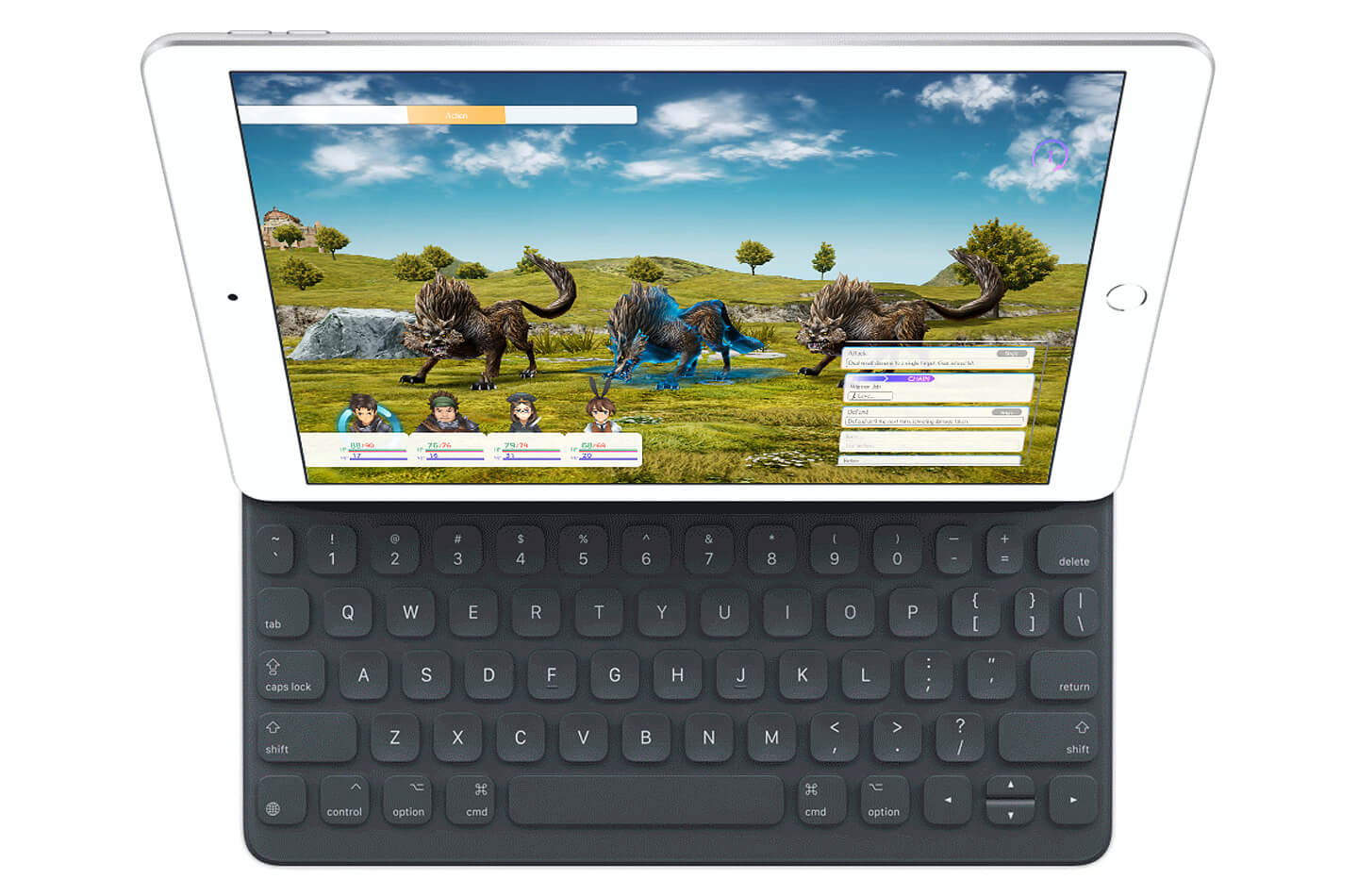 iPad 2019 smart keyboard