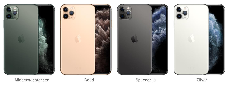 iPhone 11 Pro kleuren