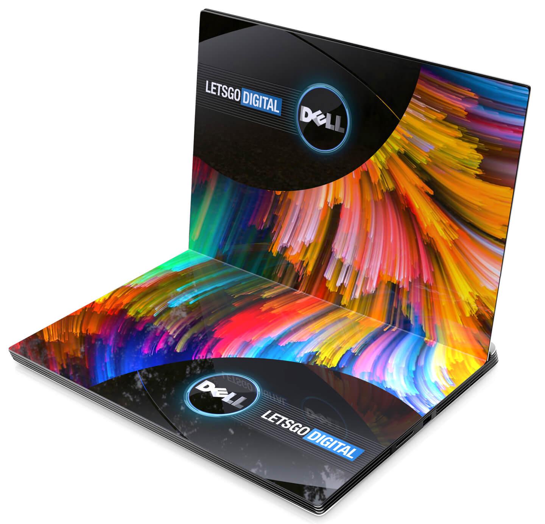 Laptop met opvouwbaar display