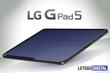 LG Android tablet