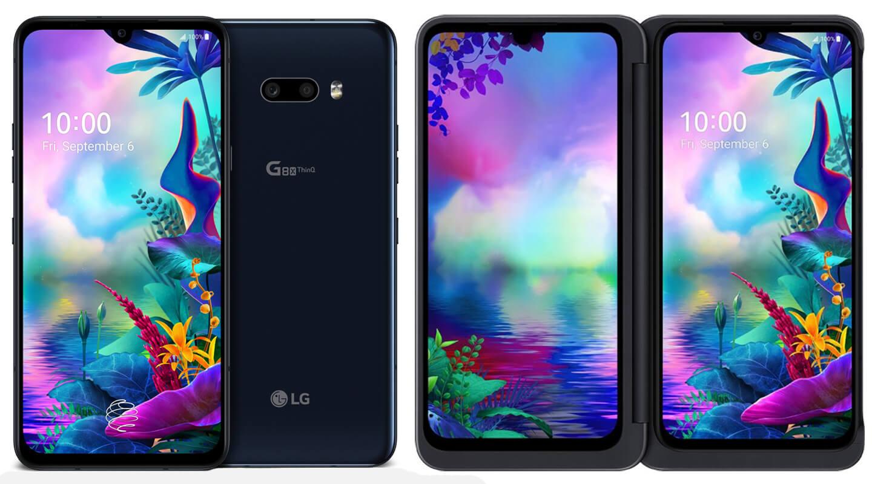 LG dual screen vouwtelefoon