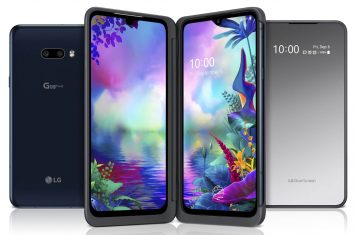 LG onthult G8x ThinQ met Dual Screen accesoire