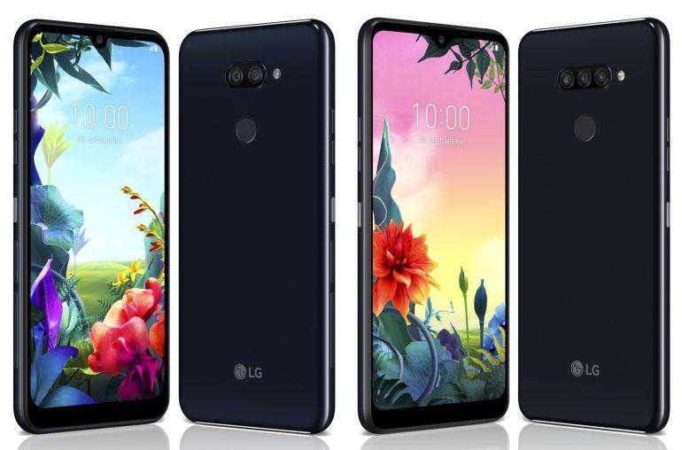 LG K-serie telefoons