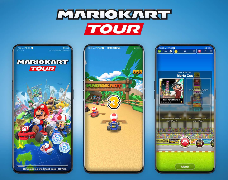 Mari Kart Tour mobiele versie