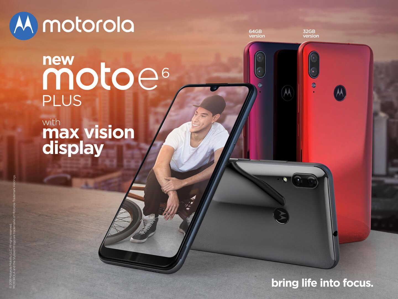 Motorola E6 Plus dual camerasysteem
