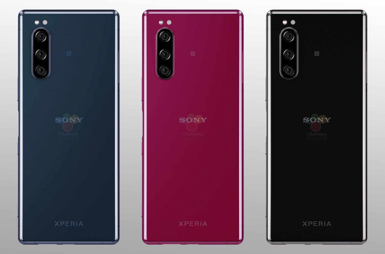Nieuwe Xperia smartphones
