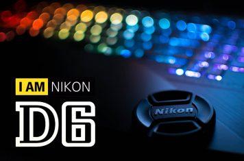 Nikon D6 DSLR camera