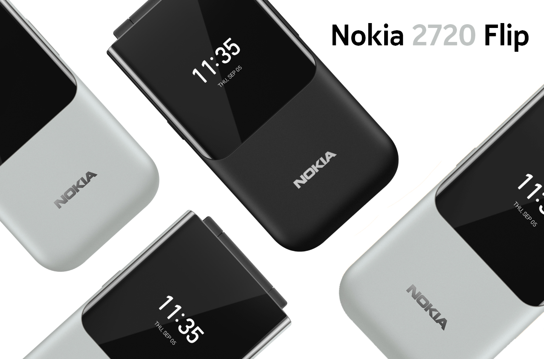 Nokia telefoon met noodknop
