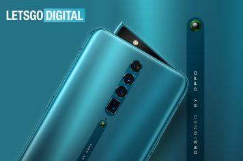 Oppo Reno smartphone zoomcamera