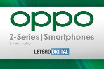 Oppo Z-serie smartphones