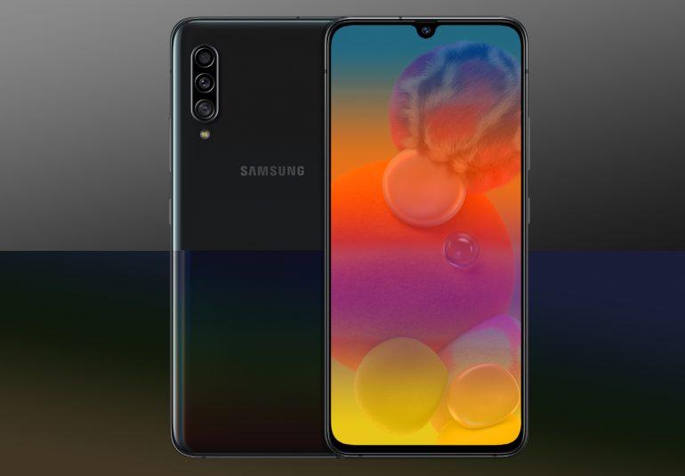 Samsung Galaxy 5G telefoon