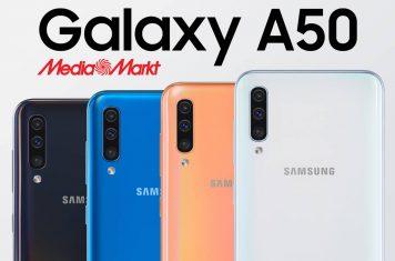 Samsung Galaxy A50 in de aanbieding bij MediaMarkt