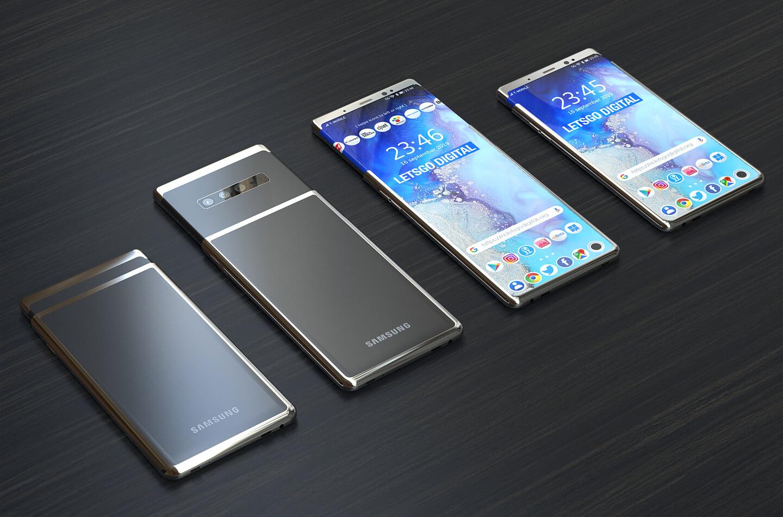 Samsung Galaxy slider telefoon