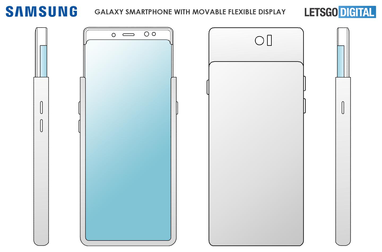 Samsung slider smartphone