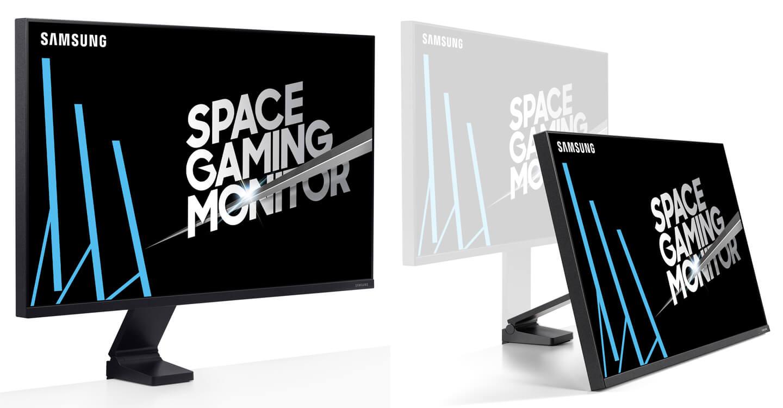 Samsung SR75Q space gaming monitor