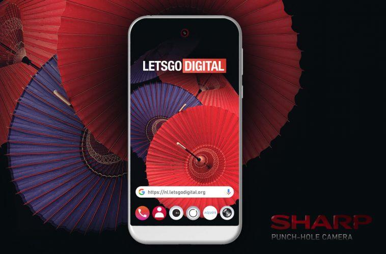 Sharp mobiele telefoon