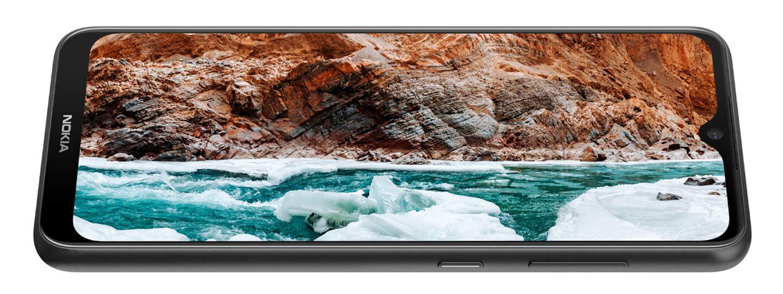 Smartphone met HDR scherm