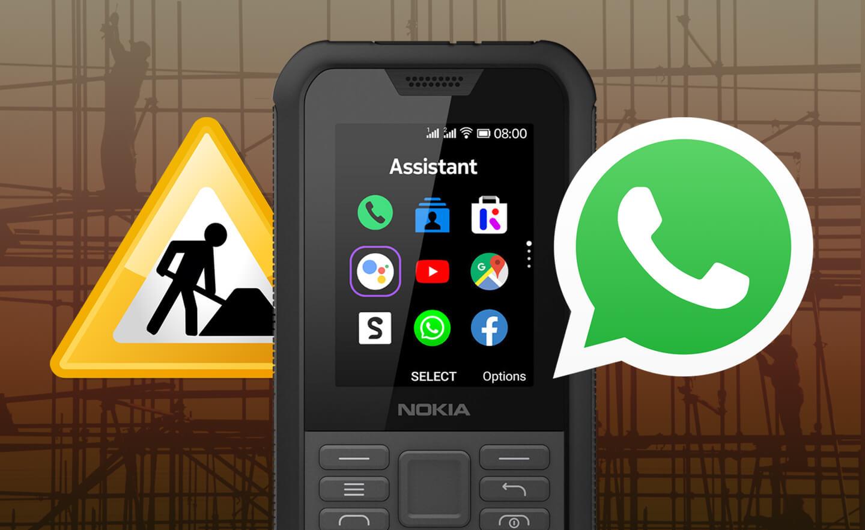 Telefoon met Whatsapp