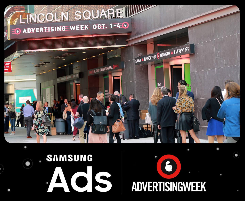 Advertenties op Samsung smartphones