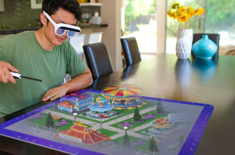AR bril 3D hologram games