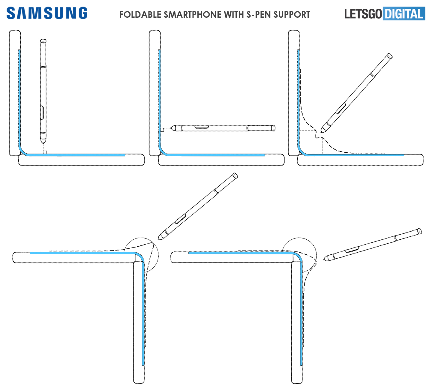 Galaxy Note Fold styluspen