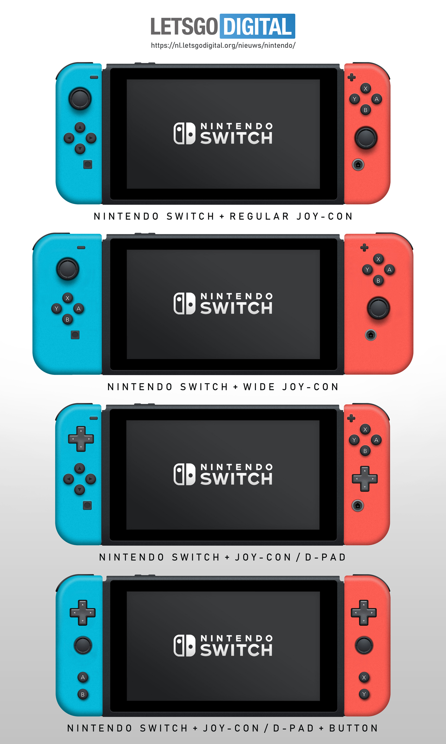 Nintendo Switch spelcomputers