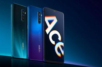 Oppo Reno Ace smartphone