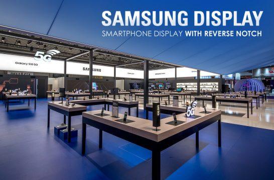 Samsung Display mobiele telefoons