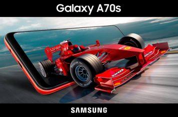 Samsung Galaxy A70s smartphone