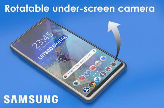 Samsung Galaxy S11 slider display