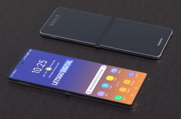 Samsung opvouwbare klaptelefoon
