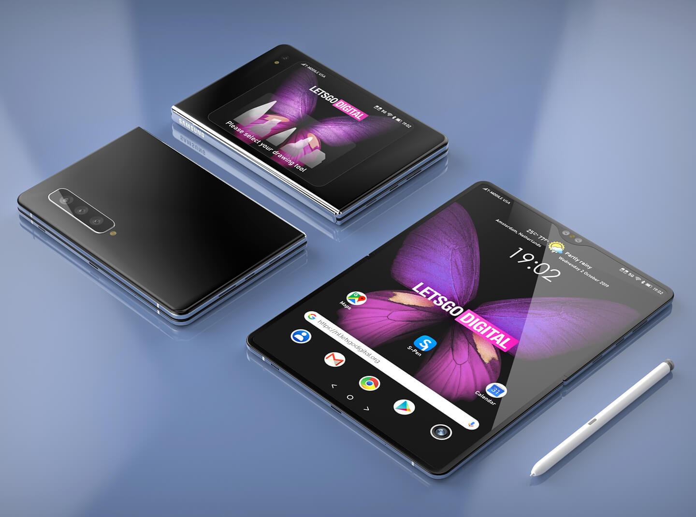 Samsung opvouwbare telefoon S Pen