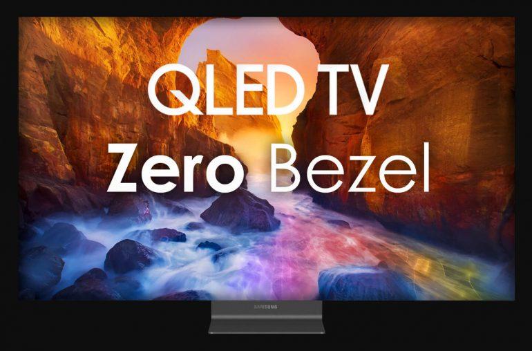 Samsung QLED TV Zero Bezel
