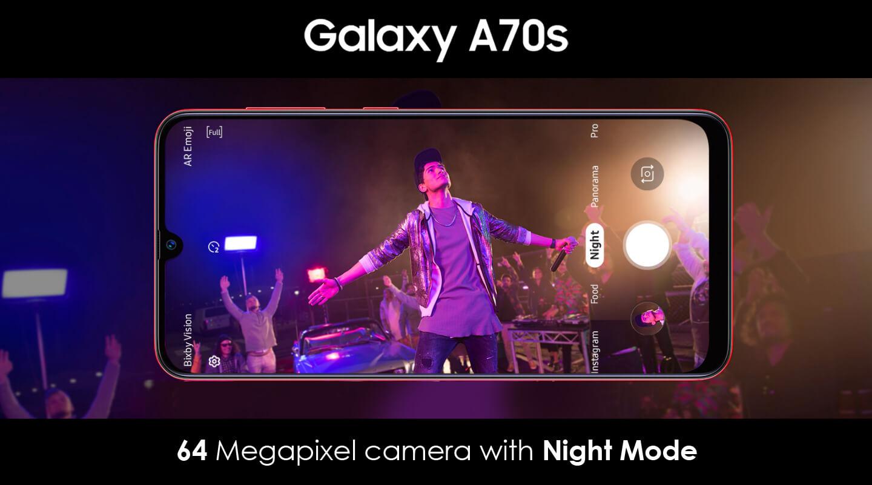 Smartphone met hoge resolutie camera