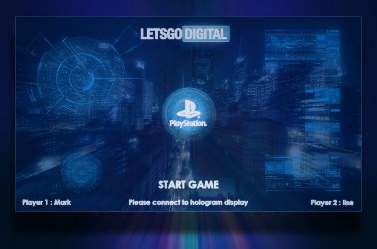 Sony Playstation 3D hologram display