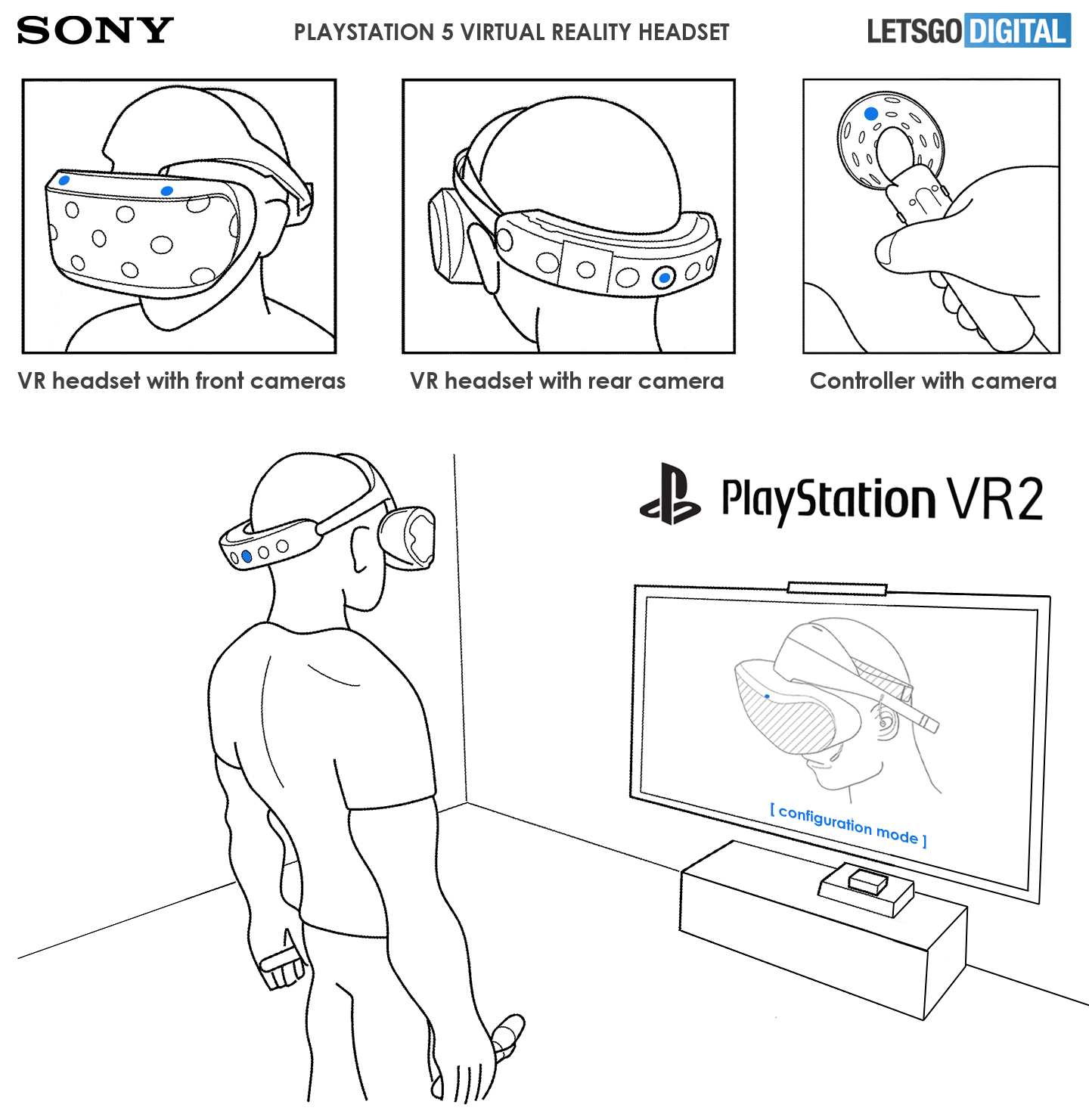 Sony Playstation 5 PSVR2 headset