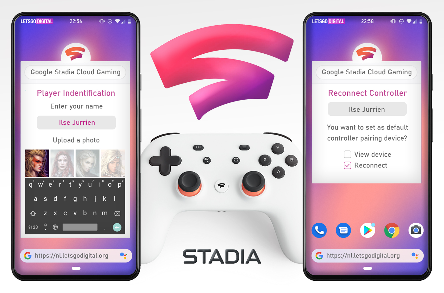 Stadia game play
