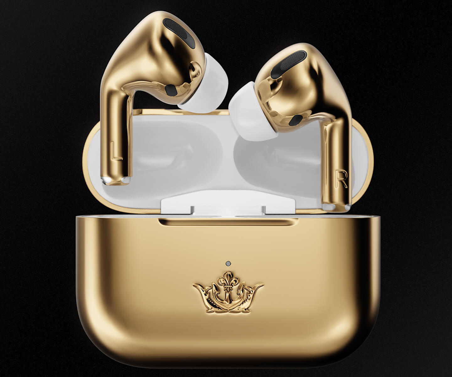 AirPods Gold Caviar