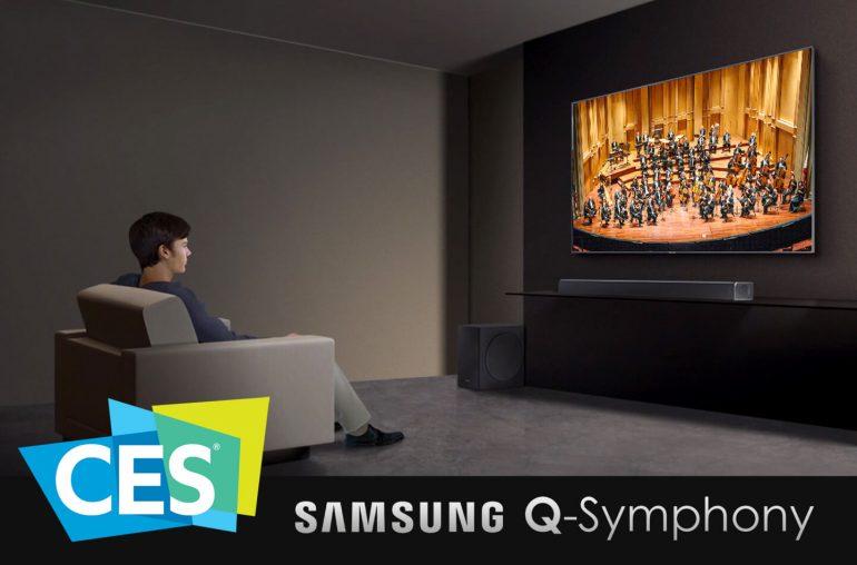 CES 2020 Samsung Soundbar