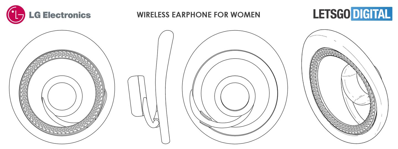 Draadloze headset voor vrouwen