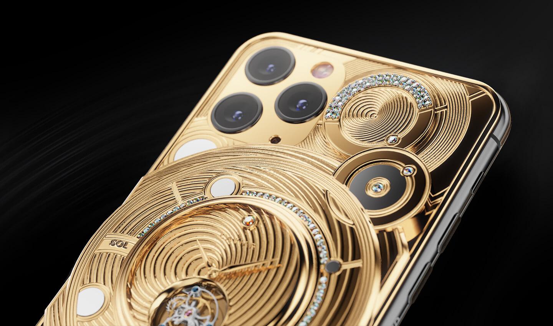 iPhone met goud