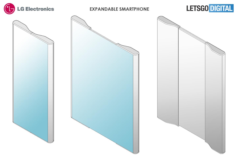 LG telefoon uittrekbaar scherm