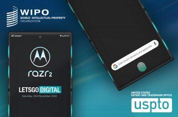 Motorola Razr 2 opvouwbare smartphone
