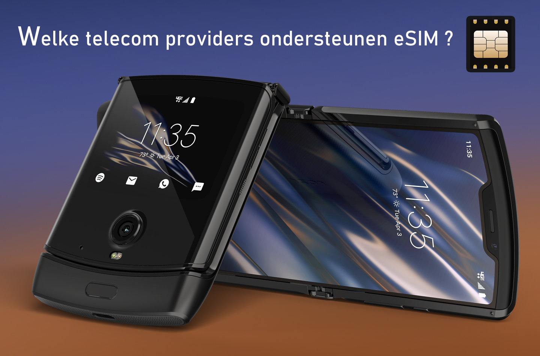 Motorola RAZR eSIM abonnement