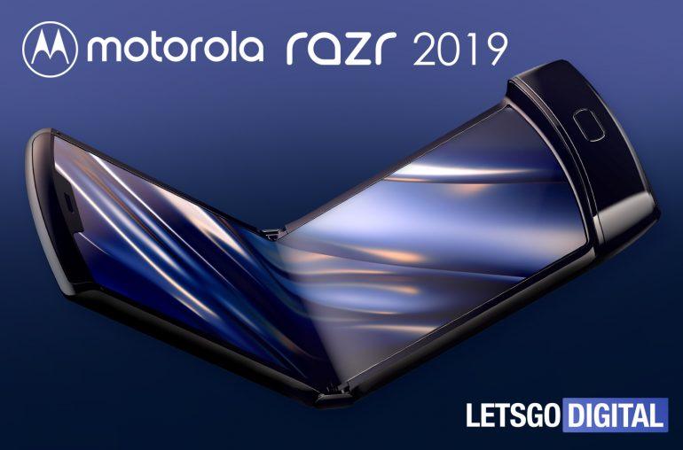 Motorola Razr vouwtelefoon