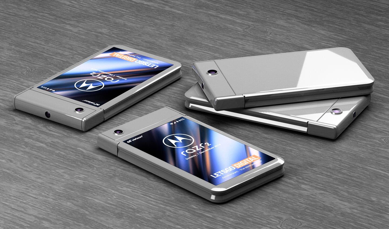 Nieuwe opvouwbare smartphone Motorola